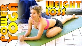 getlinkyoutube.com-Beginners Power Yoga For Weight Loss - Total Body Workout - 45 Minute Yoga Class