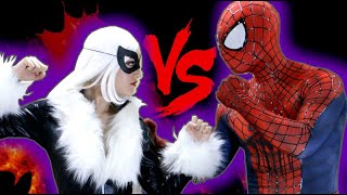 getlinkyoutube.com-SPIDER-MAN vs BLACK CAT