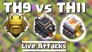 getlinkyoutube.com-TH9 vs. TH11 in TITAN   2 starring maxed TH10   Clash of Clans   Quantum´s 8.9