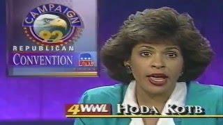 Ch4 Eyewitness News Nightwatch Aug 20, 1992 WWL TV New Orleans