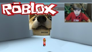 getlinkyoutube.com-Roblox: Get Eaten (#3) - EATEN BY DOGE!!!!
