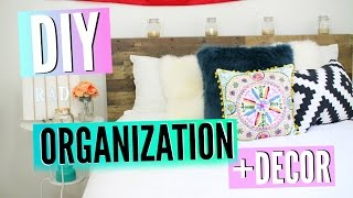getlinkyoutube.com-Back To School DIY Room Decor & Organization! Redecorate Your Room On A Budget For Back To School!