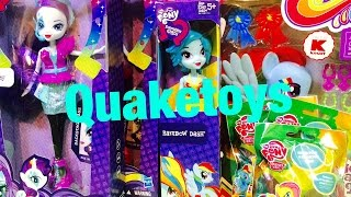 getlinkyoutube.com-Equestria Girls My Little Pony Rainbow Rocks Dolls Rainbow Dash and Rarity Reviews and Unboxing!