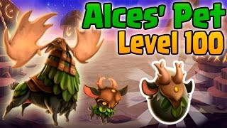 getlinkyoutube.com-Monster Legends: Alces' Pet (Level 1 to 100) + Combat PVP