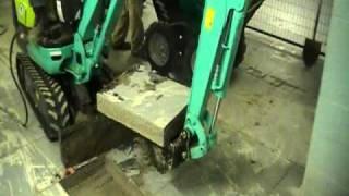 getlinkyoutube.com-Electric Mini Excavator