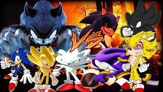 getlinkyoutube.com-Mugen Battles | Sonic/Super Sonic/Hyper Sonic/Sonic The Werehog vs Sonic.Exe/Dark/Fleetway/Darkspine
