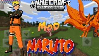 getlinkyoutube.com-Minecraft PE: NarutoPE V2.0 | Melhor Mod do Naruto | MC Pocket Edition 0.14.0