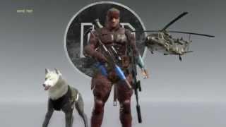 getlinkyoutube.com-MGS 5: The Phantom Pain - Demon Snake, Infinite Ammo & Stealth Camo Gameplay