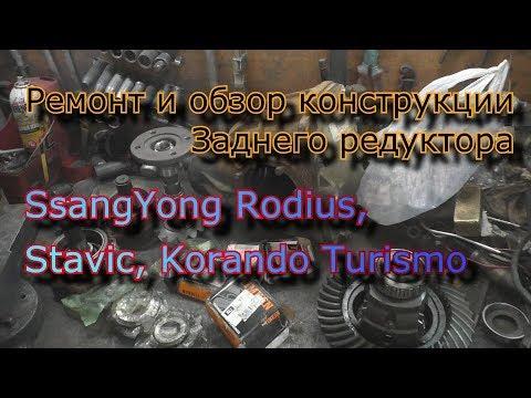 Расположение у ТагАЗ Роад Партнер сальника двигателя
