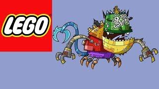 getlinkyoutube.com-LEGO Mixels - Ultra-Miximum Max -Stop Motion Build (How to build)