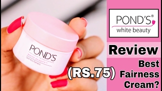 Ponds White Beauty Fairness Day Cream   For Spotless Skin   Review