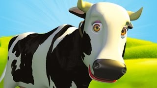 getlinkyoutube.com-Mrs Cow - The Farm Song for Kids, Children's Music