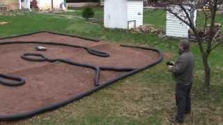 getlinkyoutube.com-How to make a backyard RC car track - tips and techniques