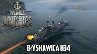 getlinkyoutube.com-World of Warships - Błyskawica H34
