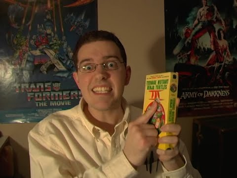Teenage Mutant Ninja Turtles 3 Movie Review - Angry Video Game Nerd - Cinemassacre.com