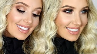 getlinkyoutube.com-FULL GLAM: Cream Contour/Highlight, Sultry Eyes, Glossy Lips! | Lauren Curtis