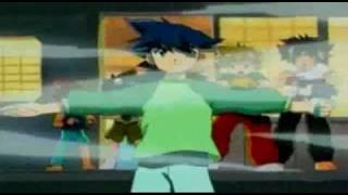getlinkyoutube.com-Beyblade G-Revolution - Lee & Rick vs Crusher & Ming-Ming