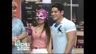 getlinkyoutube.com-Chavo Sexy del Publico en Las Noches del Fútbol (17/Julio2012)