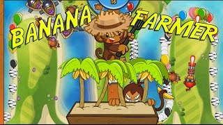 NEW TOWER - Bloons TD Battles BANANA FARMER