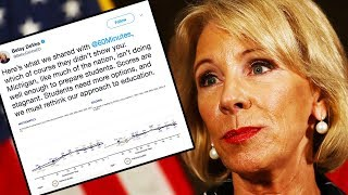 Betsy DeVos Tweets Major Self-Own