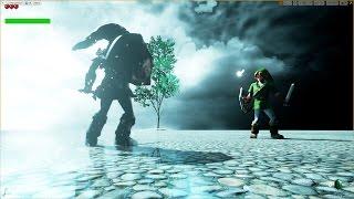 getlinkyoutube.com-Unreal Engine 4 [4.11] Zelda Ocarina of Time / Link vs DarkLink [Work in Progress]