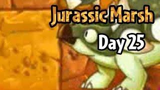 Plants vs Zombies 2 - Jurassic Marsh Day 25: Ankylosaurus