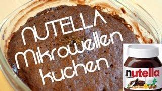 getlinkyoutube.com-Nutella Mikrowellenkuchen