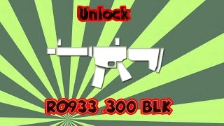 Battlefield Hardline | How to unlock RO933 .300 BLK