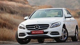 getlinkyoutube.com-2015 Mercedes Benz C-Class C200 W205 - Road Test Review (India)
