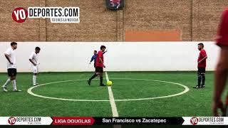 San Francisco vs. Zacatepec Final Torneo Corto Liga Douglas