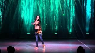 getlinkyoutube.com-Anastasia Chernovskaya - That's Freedom - Tabla fusion - Bellyrina Summer show