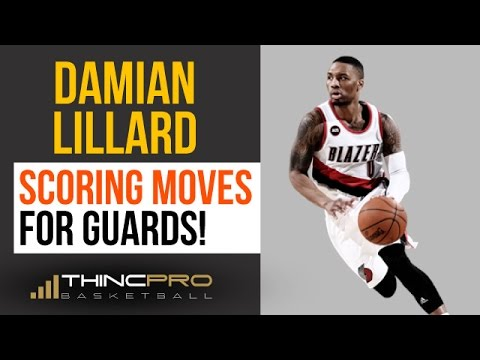 How to Score Like Damian Lillard! (3 Pro Basketball Scoring Moves EVERY Guard Should Learn!)