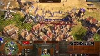 getlinkyoutube.com-Age of Empires III - Fun with CHEATS! (Part 2)