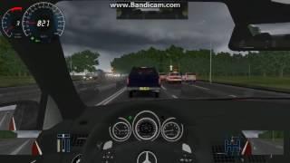 getlinkyoutube.com-City Car Driving 2.2.7 Mercedes C63 AMG Driving