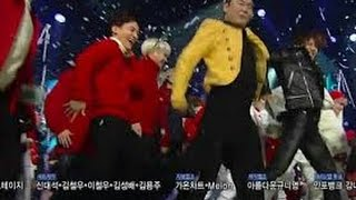 getlinkyoutube.com-[151220] PSY - DADDY DANCING WITH EXO, BTS, GOT7[BEST ENCORE STAGE EVER] Inkigayo WIN