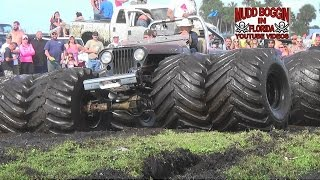 getlinkyoutube.com-Mega Monster Jeep..Bounty Hole Will it Make It