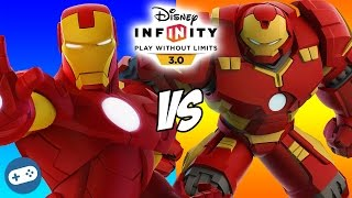 Iron Man VS Hulkbuster Marvel Battlegrounds Disney Infinity 3.0