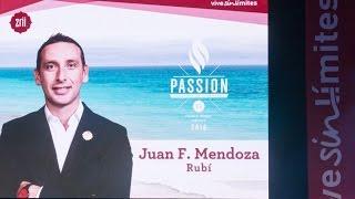 Juan Fernando Mendoza, Riviera Maya 2016; Academia de Liderazgo Zrii  [Passion]
