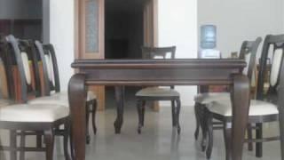 getlinkyoutube.com-Tavolina dhe karike nga druri GUN-INTERIER