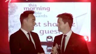 getlinkyoutube.com-Ant & Dec win The Best Showbiz Guest - This Morning 15th July