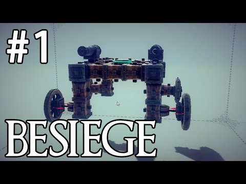 Besiege - Strange War Machines! #1