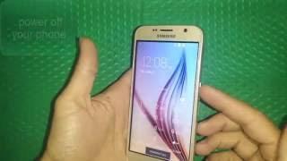 getlinkyoutube.com-How to Factory Reset How to Fake Galaxy S6 طريقة عمل فرمت للهواتف اصينية المقلدة
