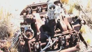 getlinkyoutube.com-Cars in the Bush - machinery - WW2 relics