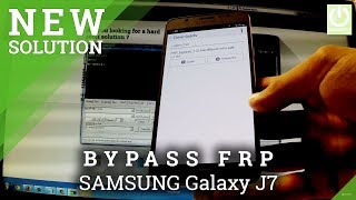 Bypass Google Account SAMSUNG Galaxy J7 - Remove FRP Januray 2017 / All SAMSUNG