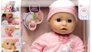getlinkyoutube.com-2016 NEW Baby Annabell  : Baby Doll Cries Tears , Really Pee on Potty and Sleep like Real Baby