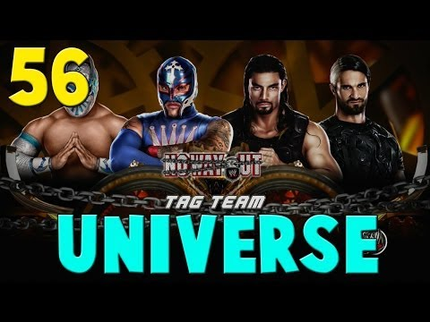 FACECAM - WWE 2K14 Universe Mode w/ Kermando Part 56 - Sin Cara and Rey Mysterio vs The Shield