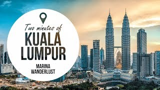 Top 8 Malaysia Kuala Lumpur Attractions | Travel Guide in 2 Minutes | Map Inside Video