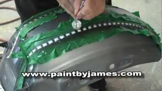 getlinkyoutube.com-How to Airbrush rivets