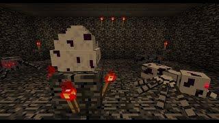 """Minecraft """"La mazmorra aracnida"""" [Creepypasta propio]"""