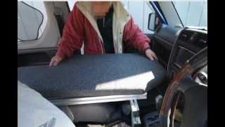 getlinkyoutube.com-スズキ・ジムニー 車中泊2名就寝対応ベッドキット・ラクネル